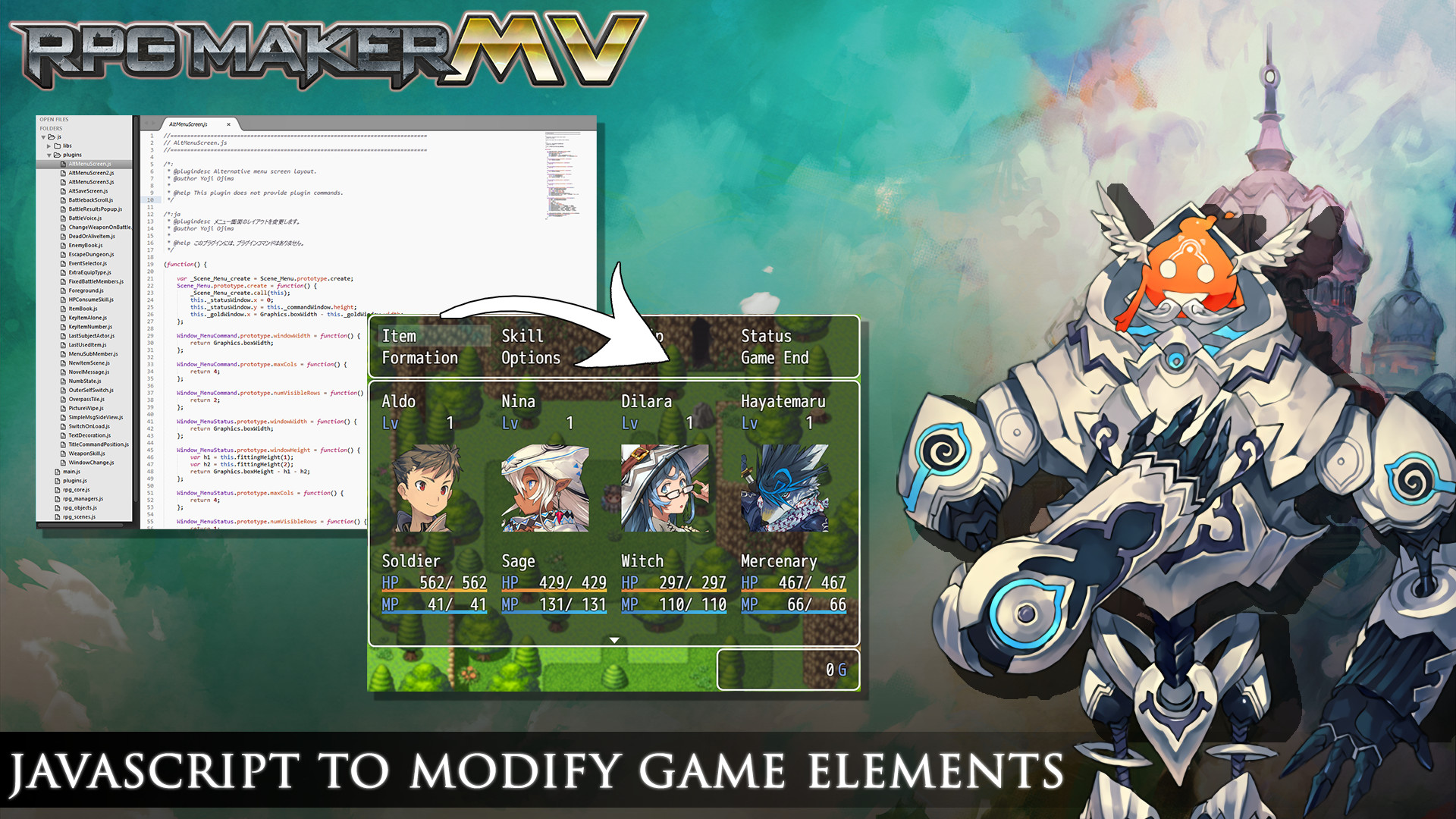 Amazon Com Rpg Maker Mv 1 3 Steam Edition Online Code Software