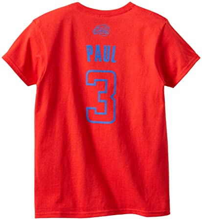 4ae677afcd9b NBA Los Angeles Clippers Chris Paul Women s S S Elevation Tee Large
