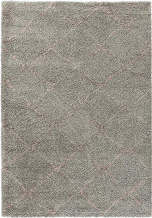 Mint Rugs 102751 Diseño Terciopelo Alfombra de Pelo Largo Hash, Polipropileno, Gris de Color Rosa, 230 x 160 x 3.5 cm: Amazon.es: Juguetes y juegos