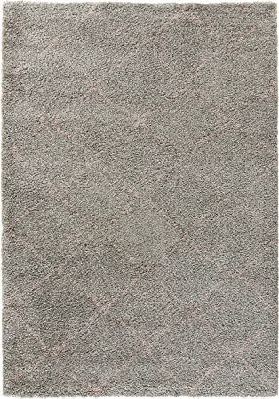 Mint Rugs 102751 Design Velours Teppich Hochflor Hash Polypropylen