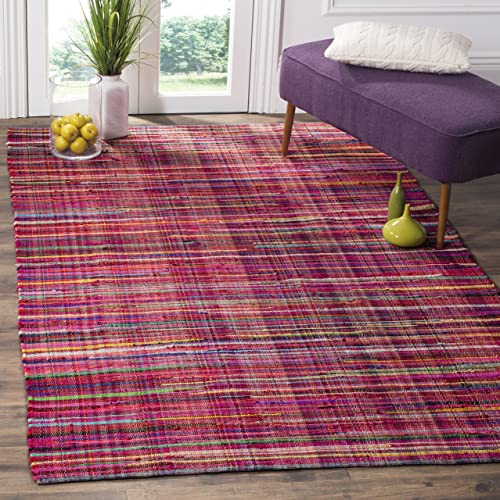 Safavieh Rag Rug Collection RAR240D Hand-woven Cotton Area Rug