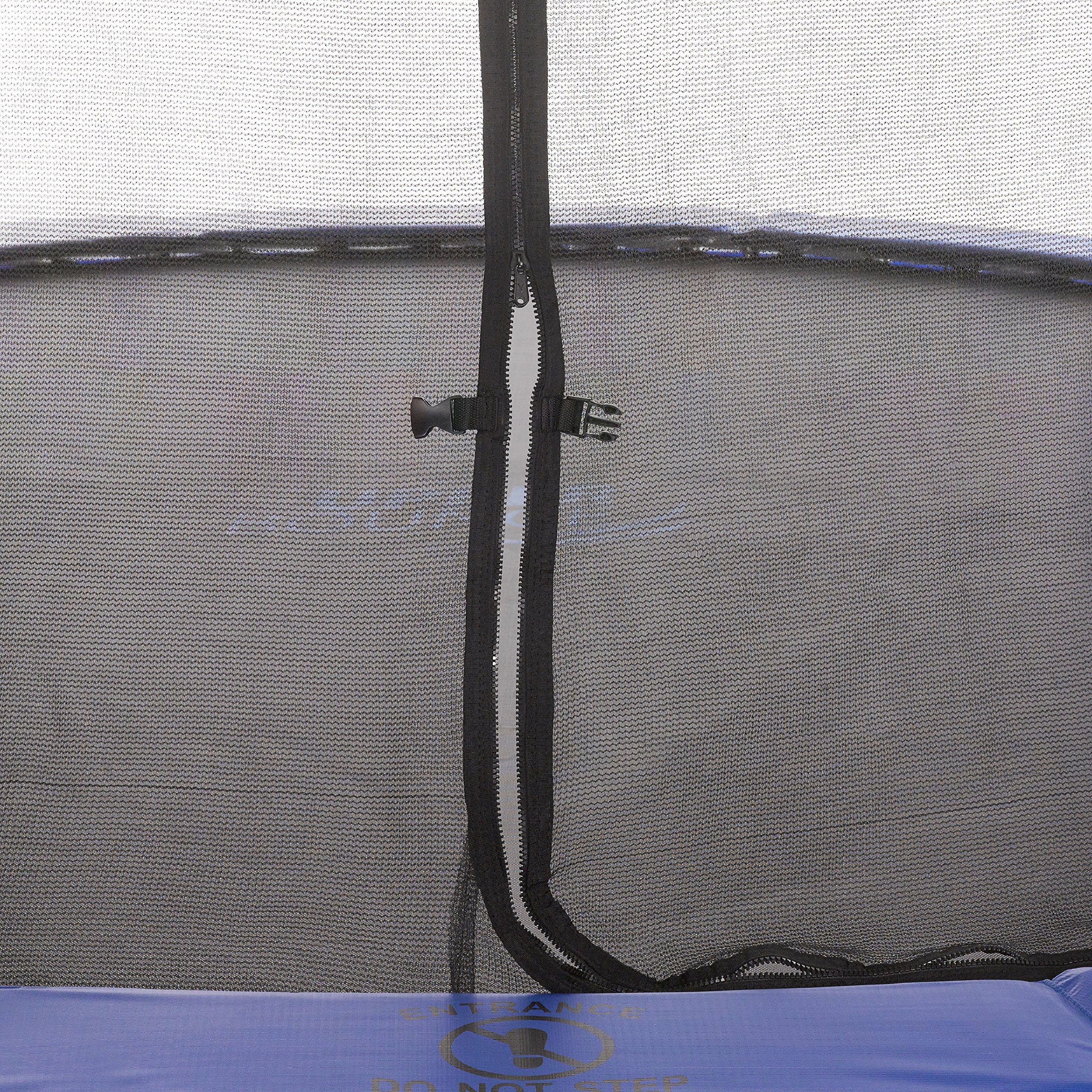 Upper Bounce 7.5 FT. Trampoline & Enclosure Set equipped with the New ''EASY ASSEMBLE FEATURE'' by Upper Bounce (Image #4)
