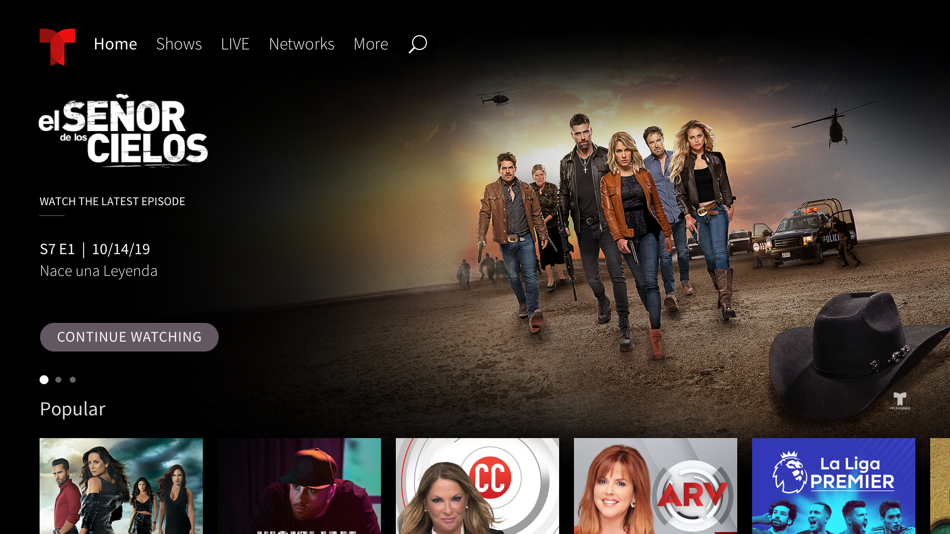 Amazon Com Telemundo Appstore For Android