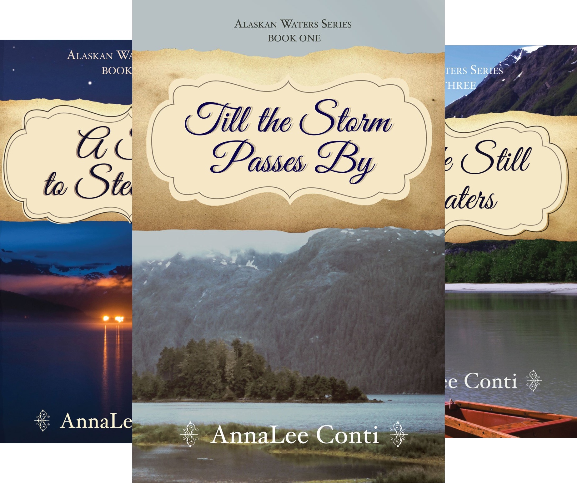 Alaskan Waters Series (3 Book Series)