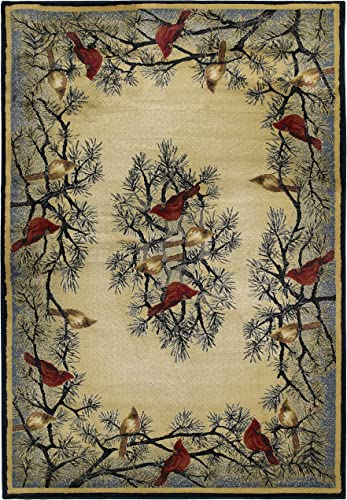 United Weavers of America Hautman Cardinal in Pine 1 10 x 3 Rug, Multicolor, Scatter