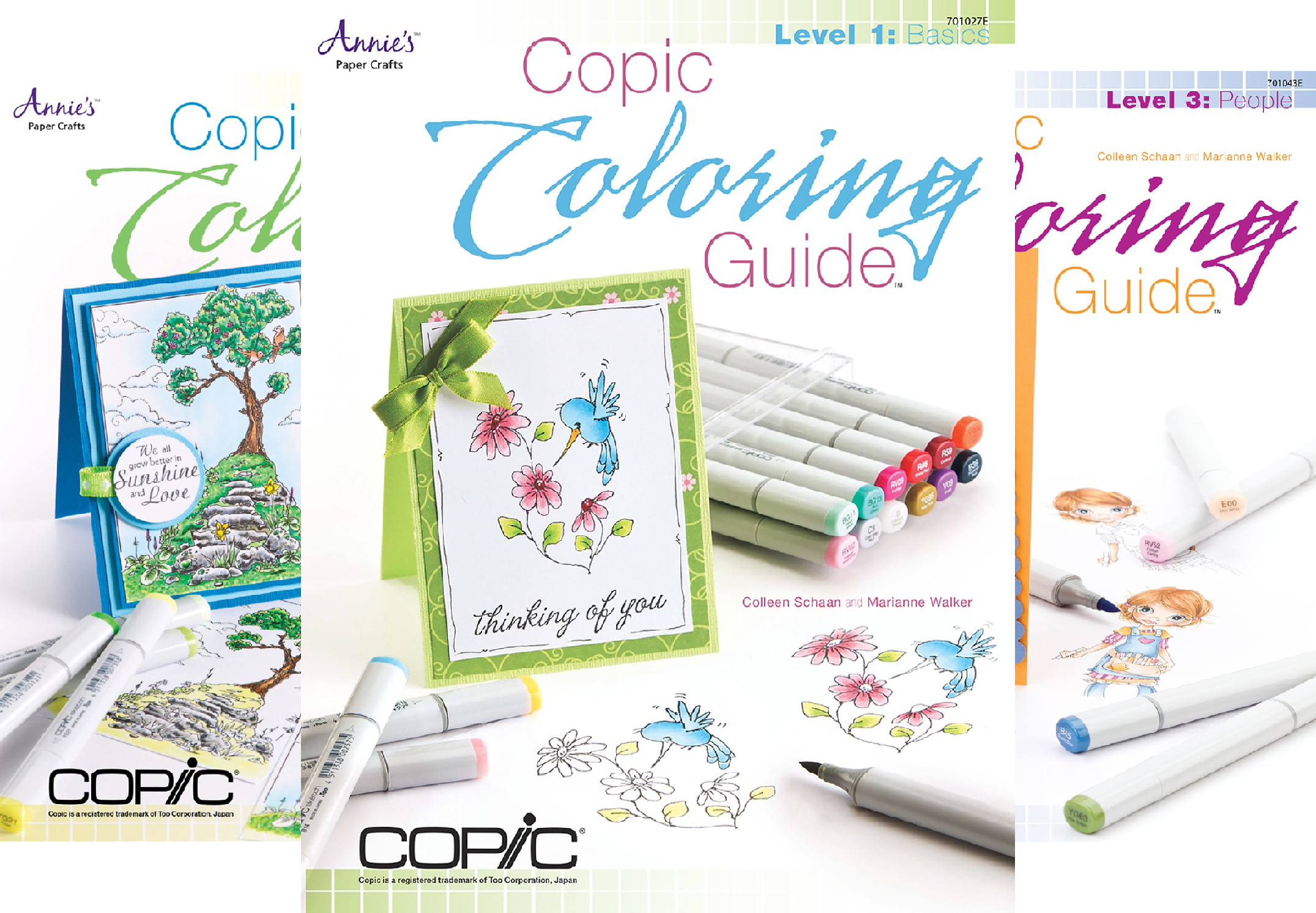 Copic Coloring Guide (4 Book Series)