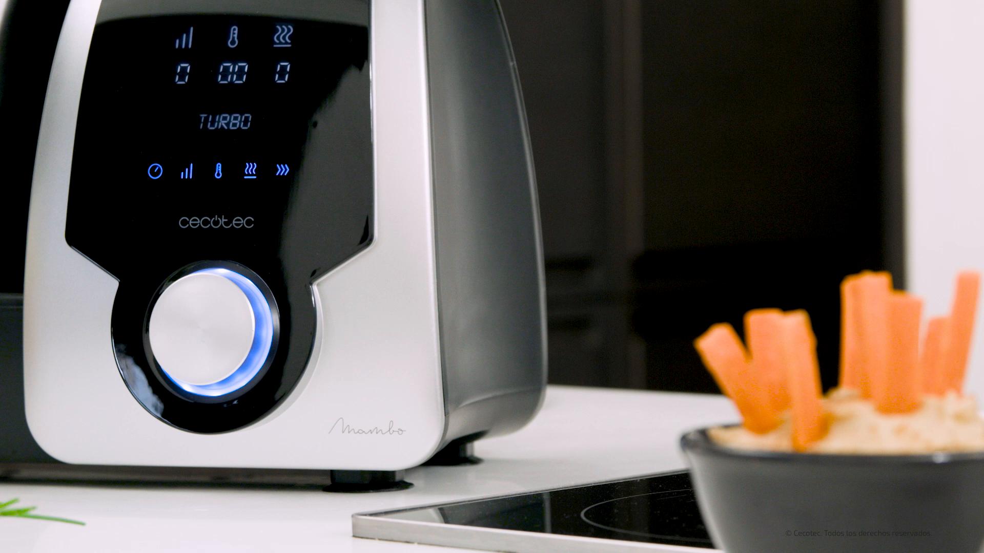 Cecotec Robot de Cocina Multifunción Mambo Silver. Capacidad de 3 ...