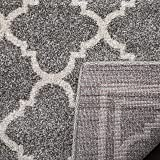 Safavieh Amherst Collection AMT422R Dark Grey and