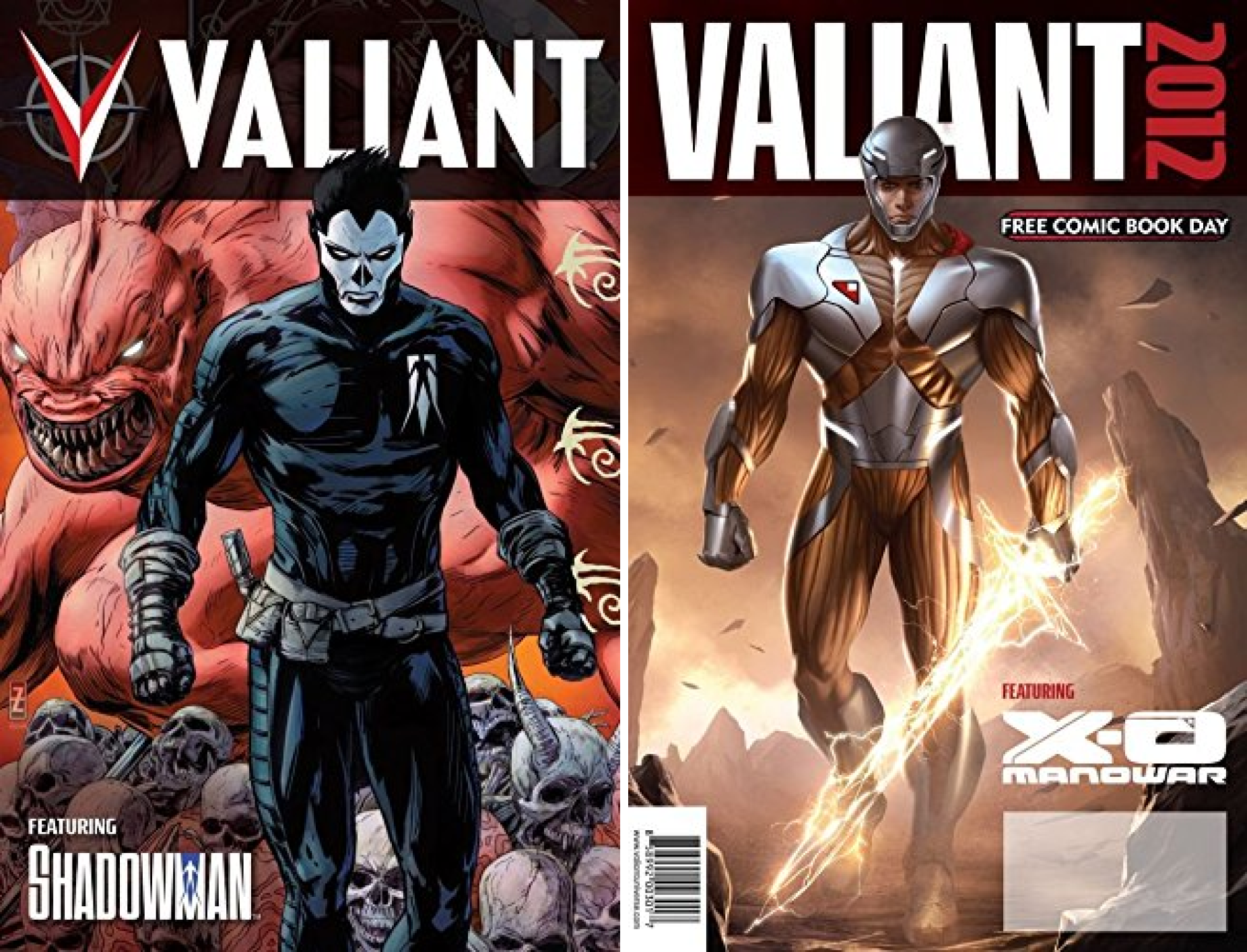 Valiant 2012: Free Previews! (Issues) (2 Book Series)