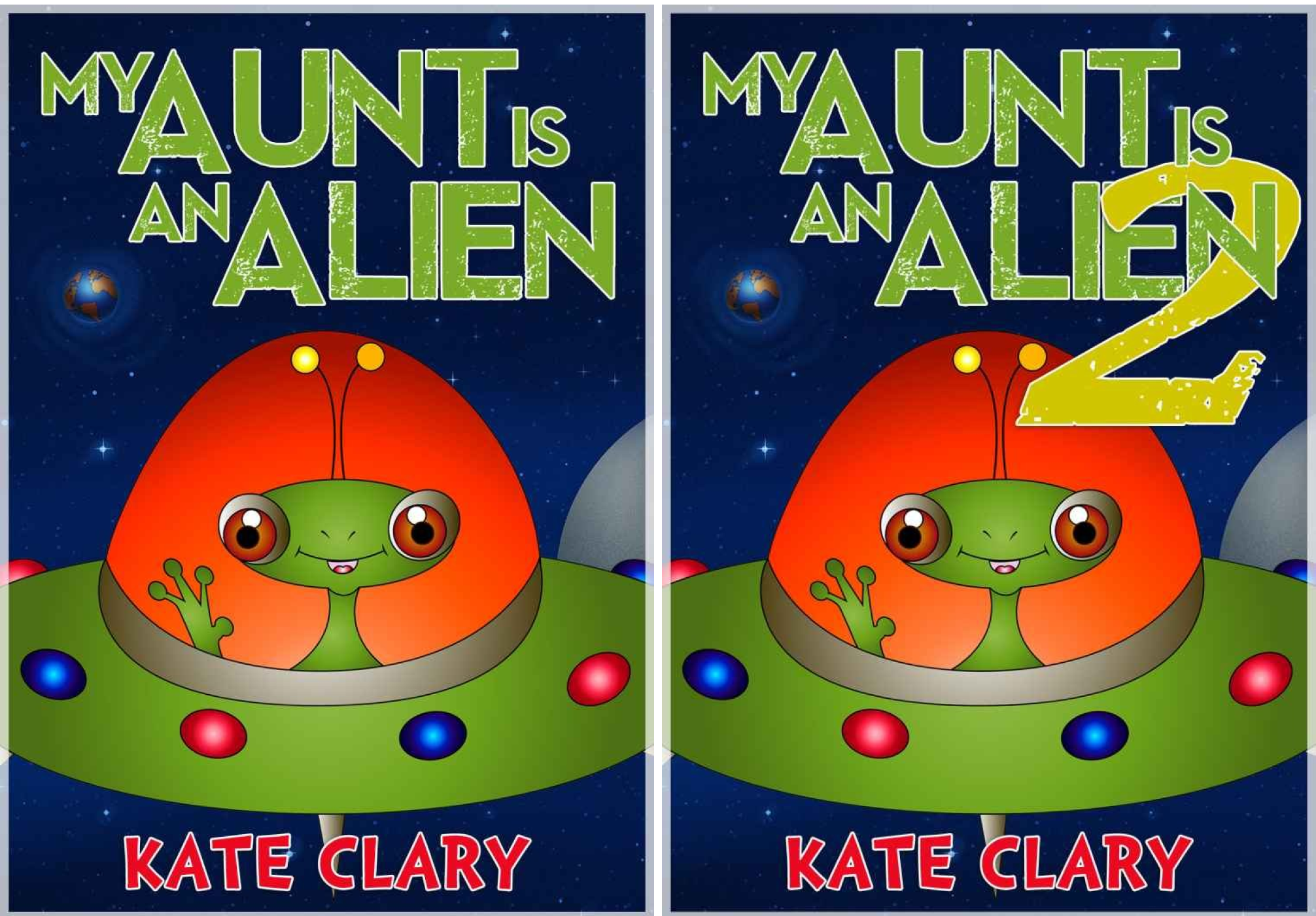 My Aunt is an Alien (2 Book Series)