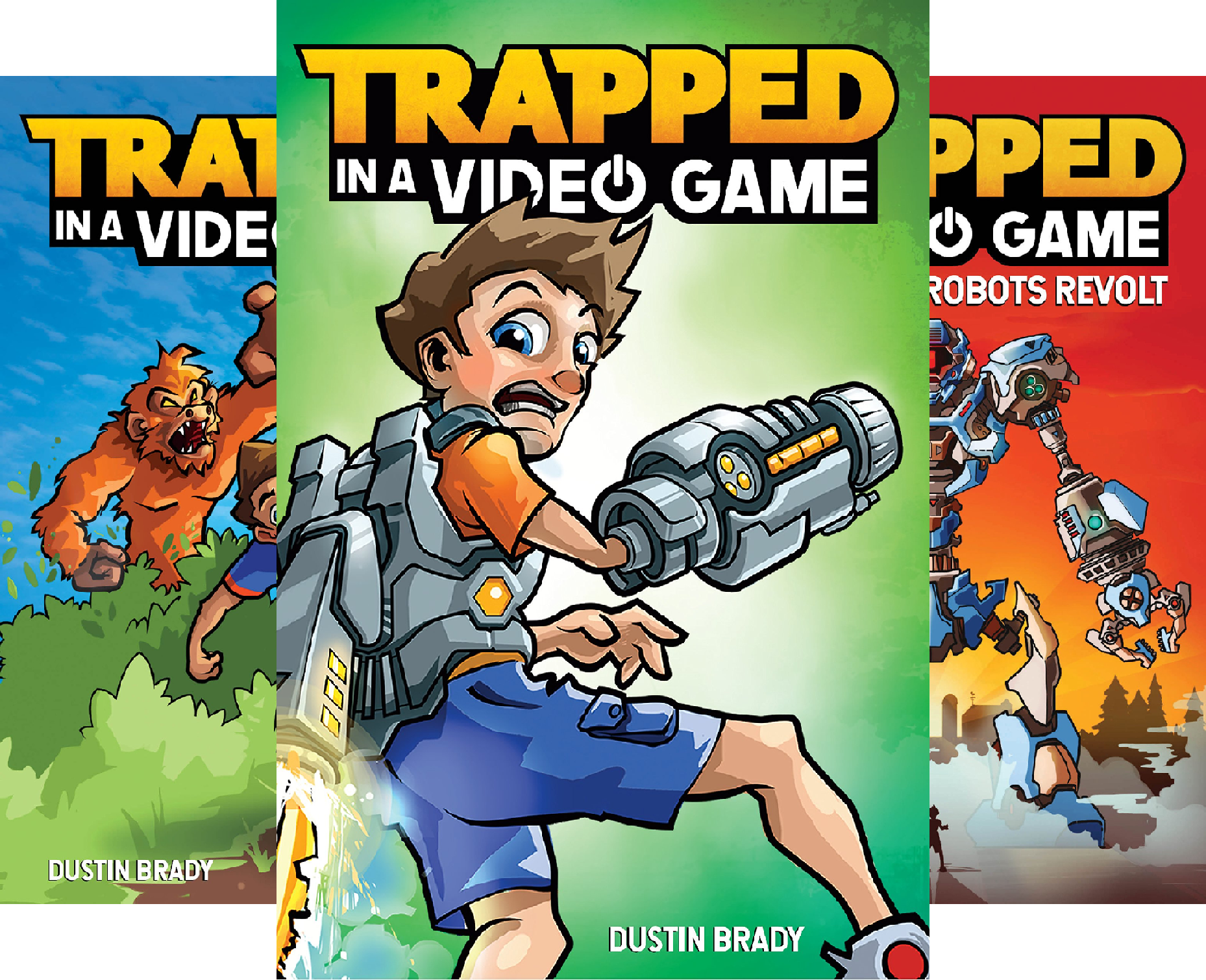 Trapped in a Video Game (4 Book Series) (Top 10 Best Minecraft Traps)