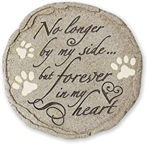 Orchid Valley Cat or Dog Grave Marker or Garden Memorial Stone. Thoughtful Pet Loss Sympathy Gift. Waterproof and Weatherproof, Can Be Used Inside Or Out.