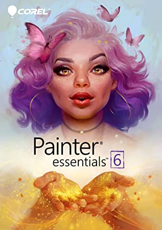Corel Painter Essentials 6 Digital Art Suite [Download]