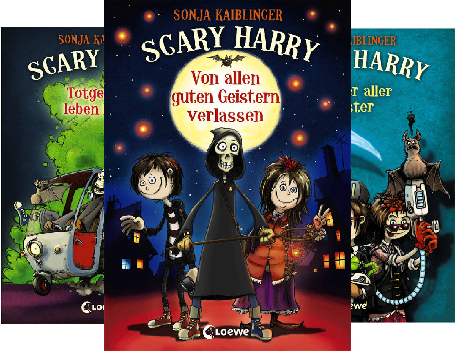 Scary Harry (Reihe in 8 Bänden)]()