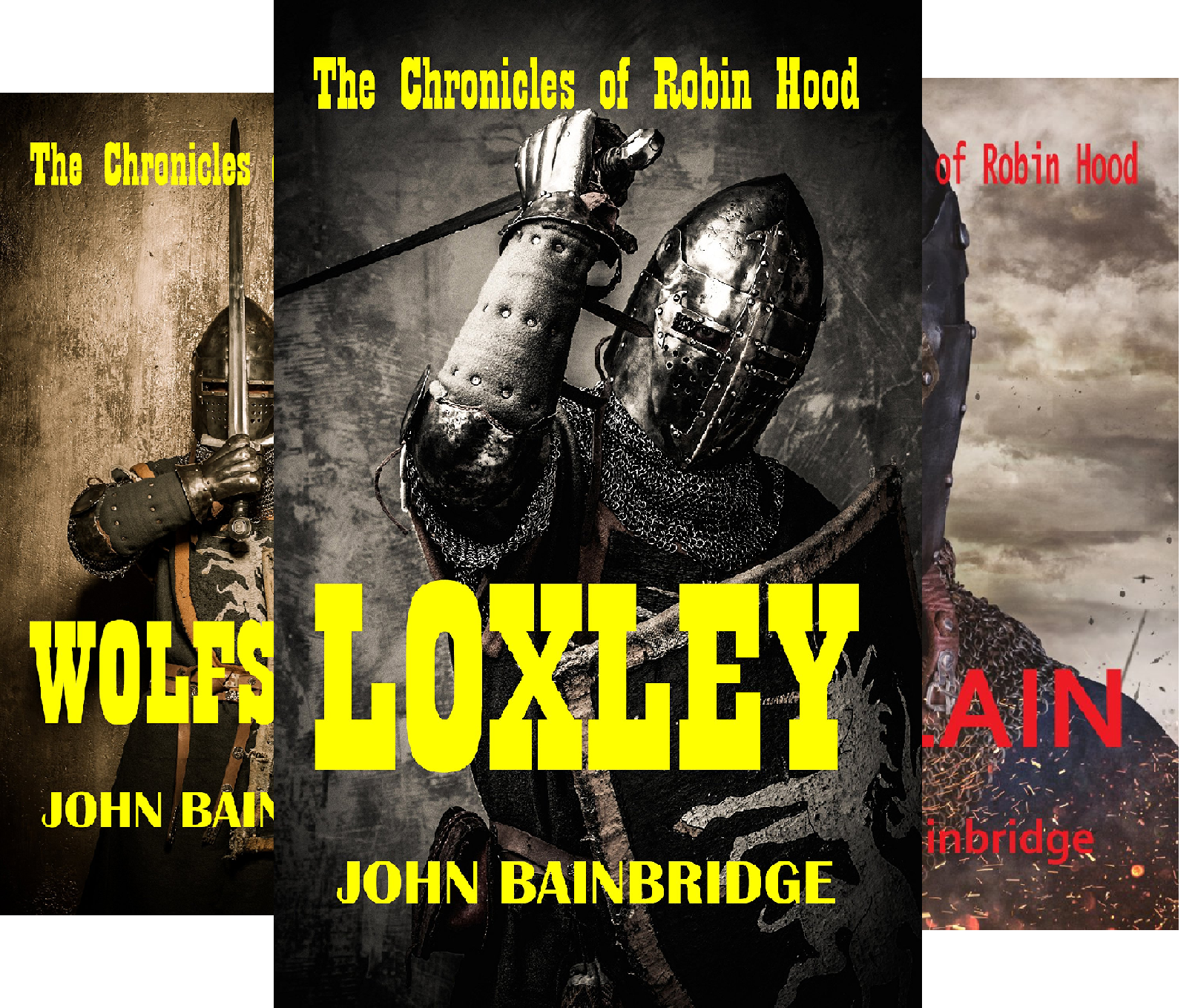The Chronicles of Robin Hood (3 Book Series)
