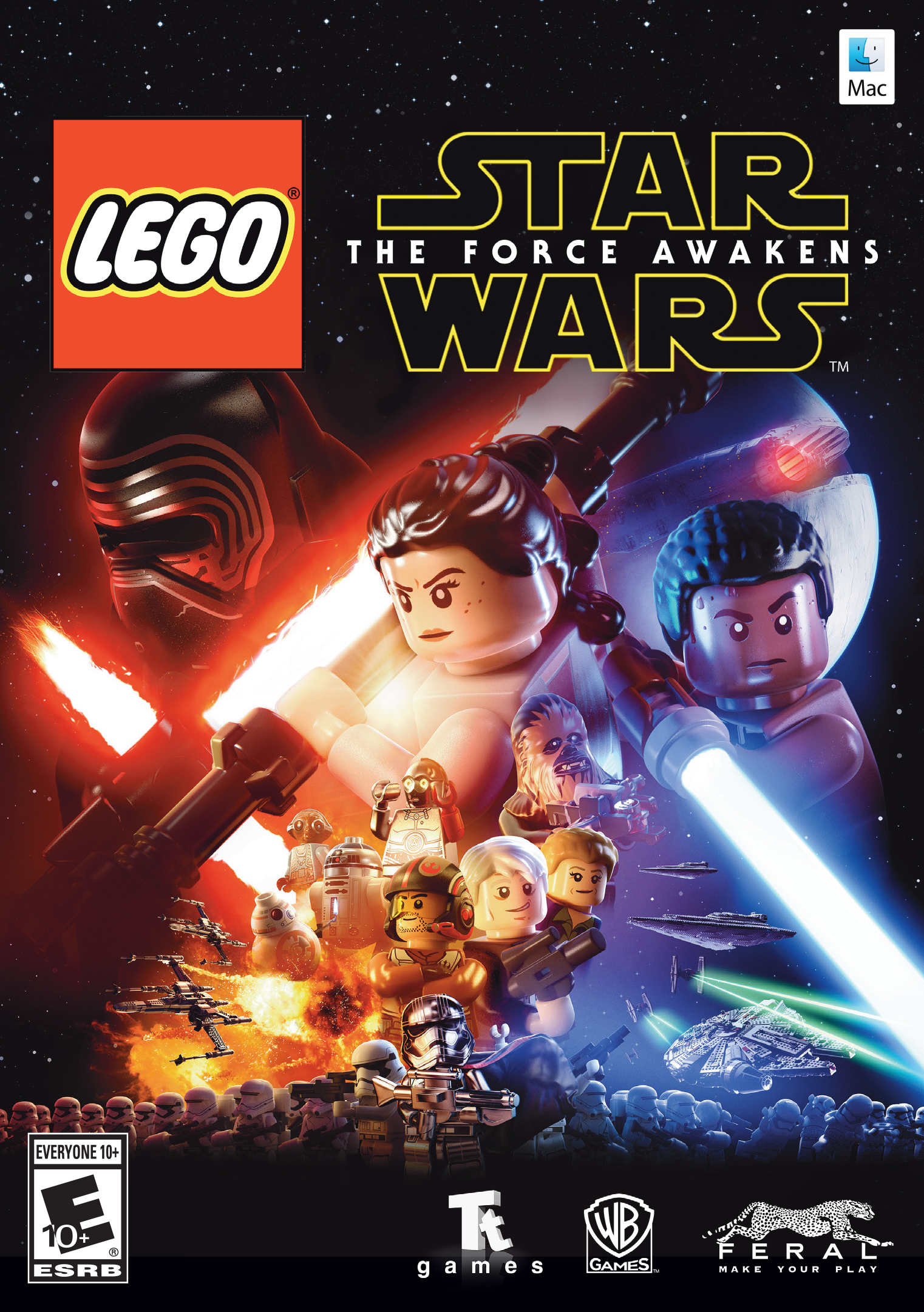 LEGO Star Wars : The Force Awakens (Mac) [Online Game Code]