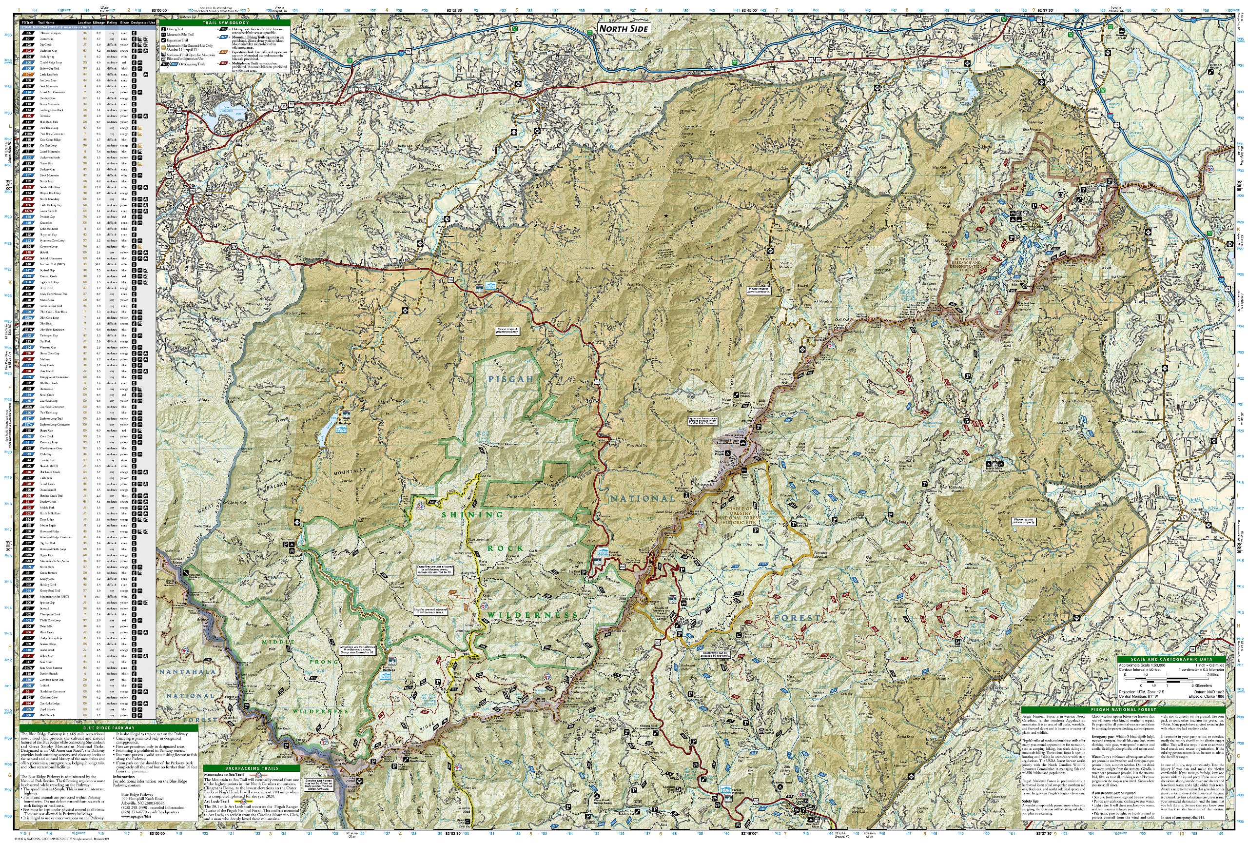 Pisgah ranger district pisgah national forest national geographic pisgah ranger district pisgah national forest national geographic trails illustrated map national geographic maps trails illustrated 0749717017801 fandeluxe Choice Image