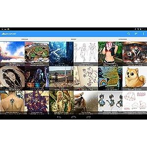 Galería de imágenes DeviantART: Amazon.es: Appstore para Android