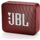 JBL GO2 Bluetooth音箱 IPX7防水/便携/无源*器 黑色 JBLGO2BLK 【日本国内正规产品/附带厂商1年保修JBLGO2RED