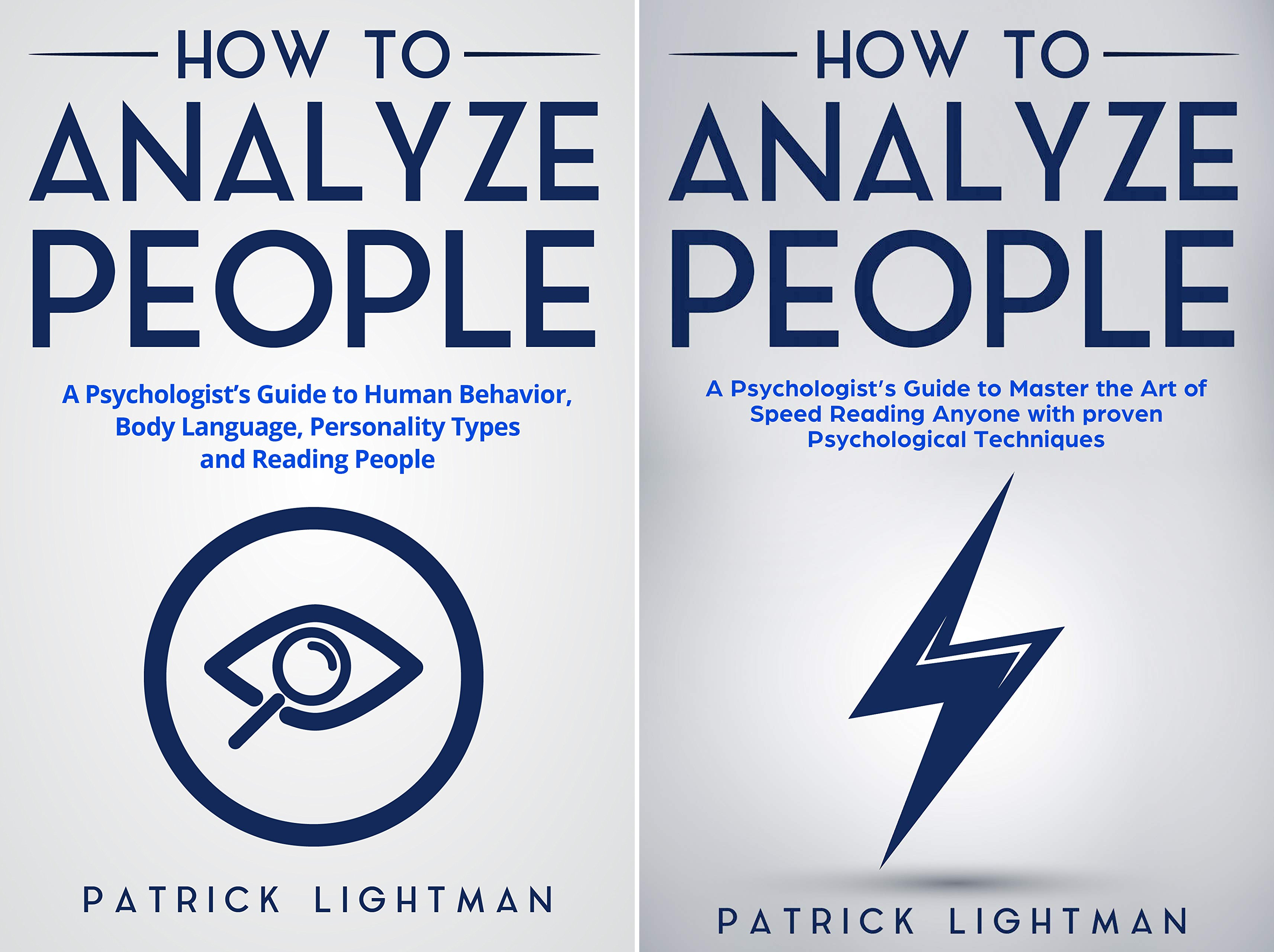 HOW TO ANALYZE PEOPLE (2 Book Series)