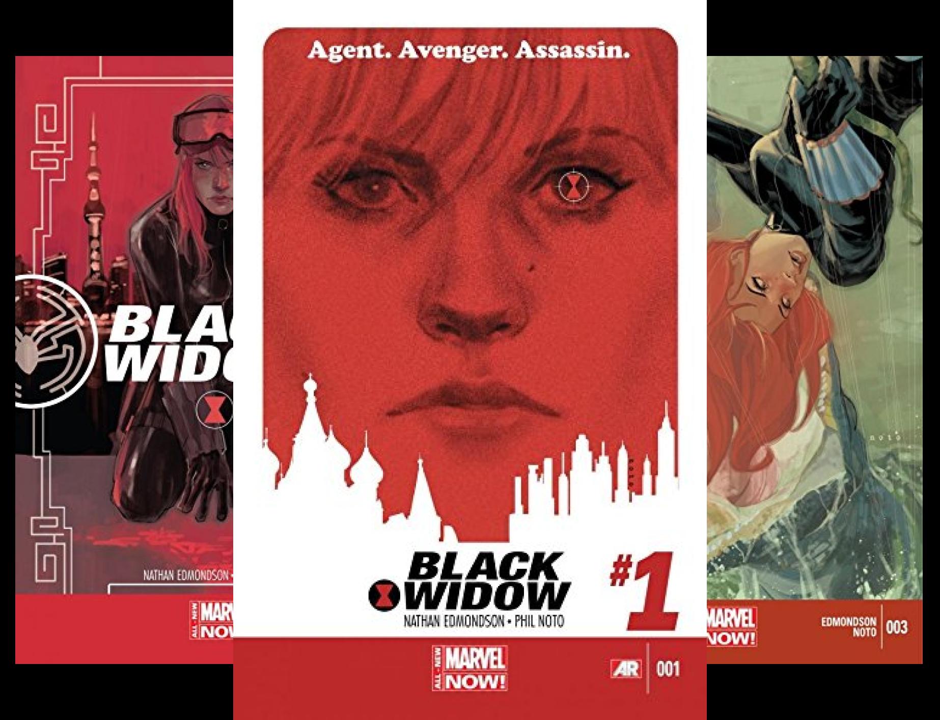 Black Widow #1-6 (6 Book (Black Widow Comics)