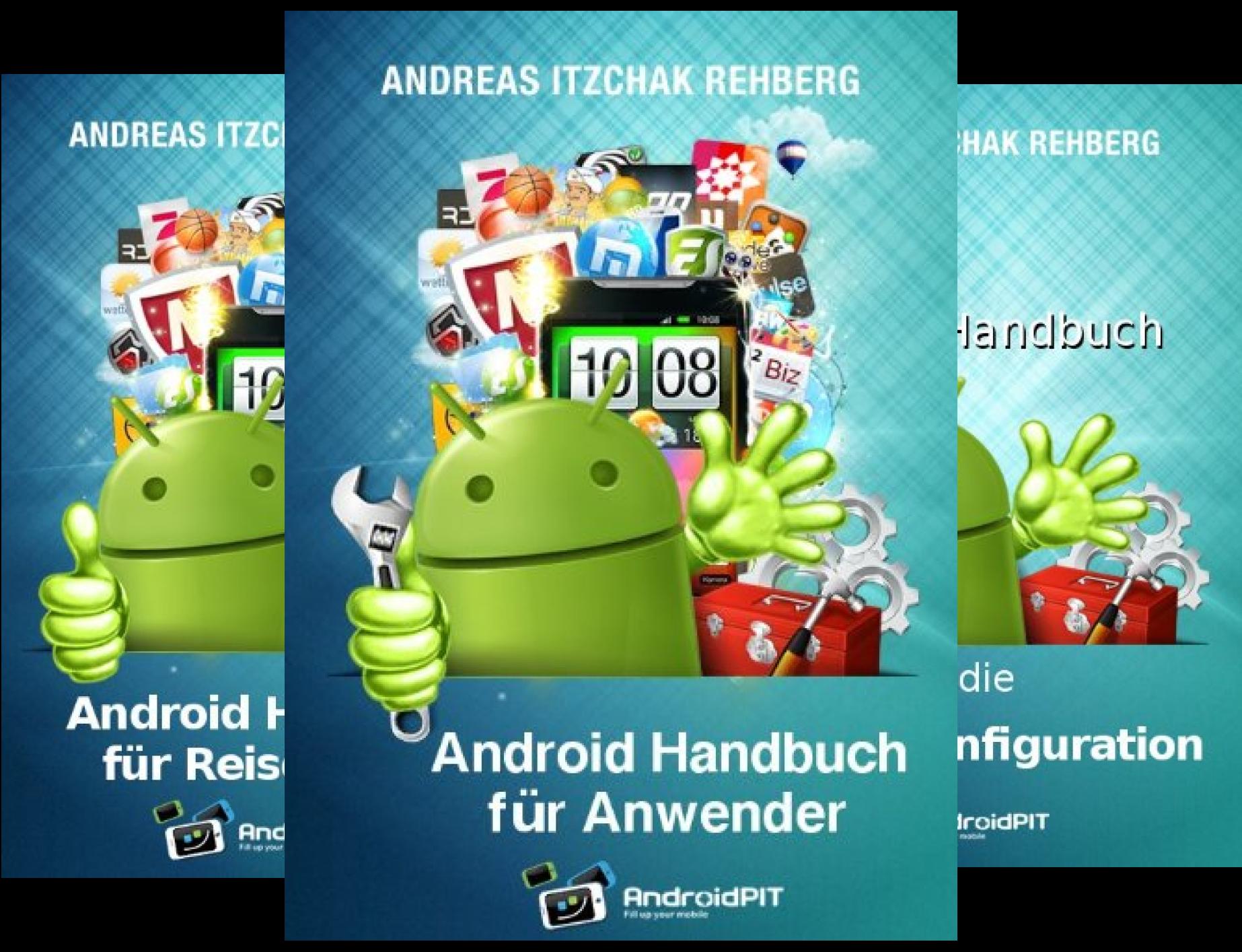 Izzys Android-Handbücher (Reihe in 3 Bänden)