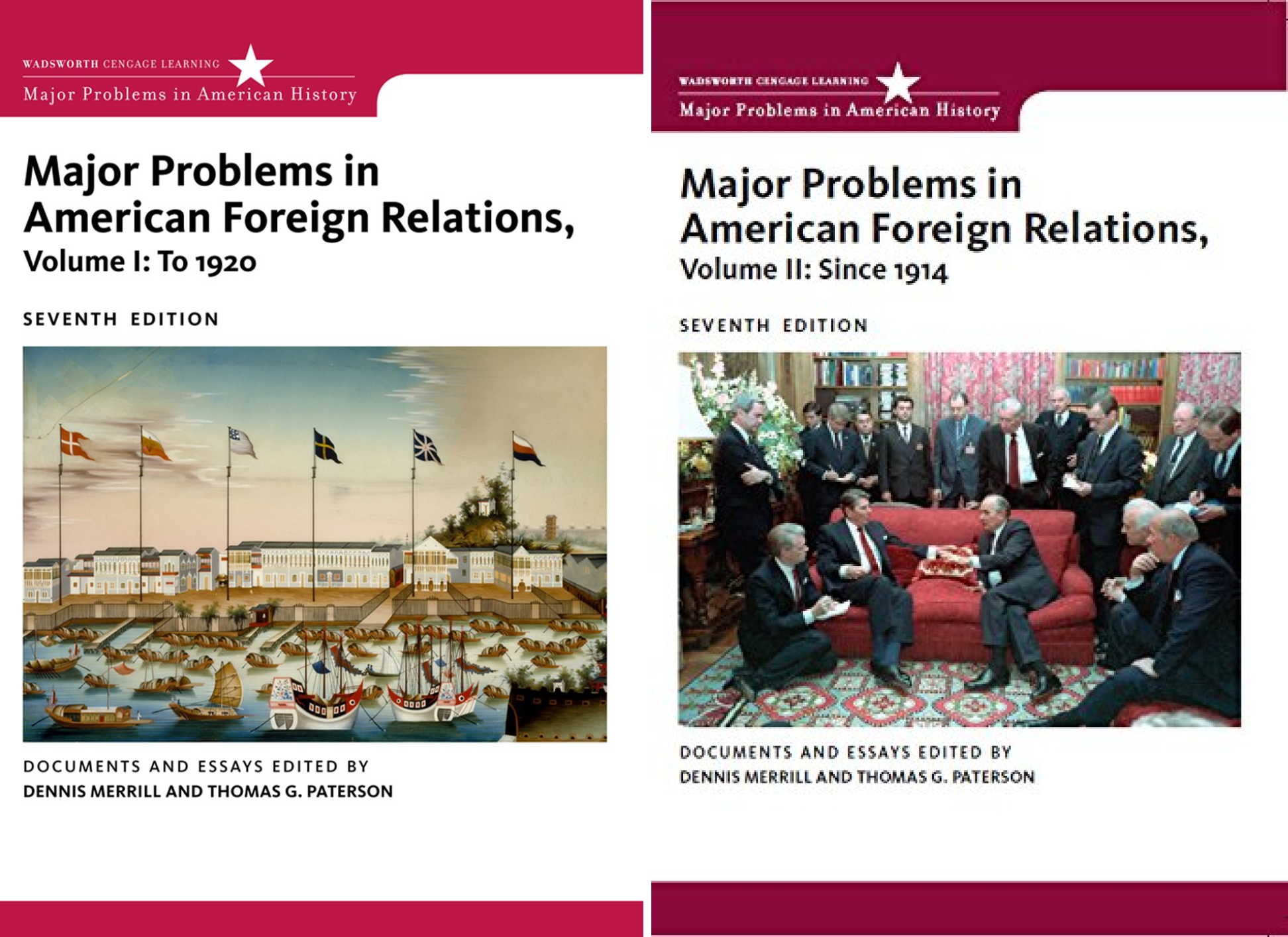 Major Problems in American History Series (2 Book Series)