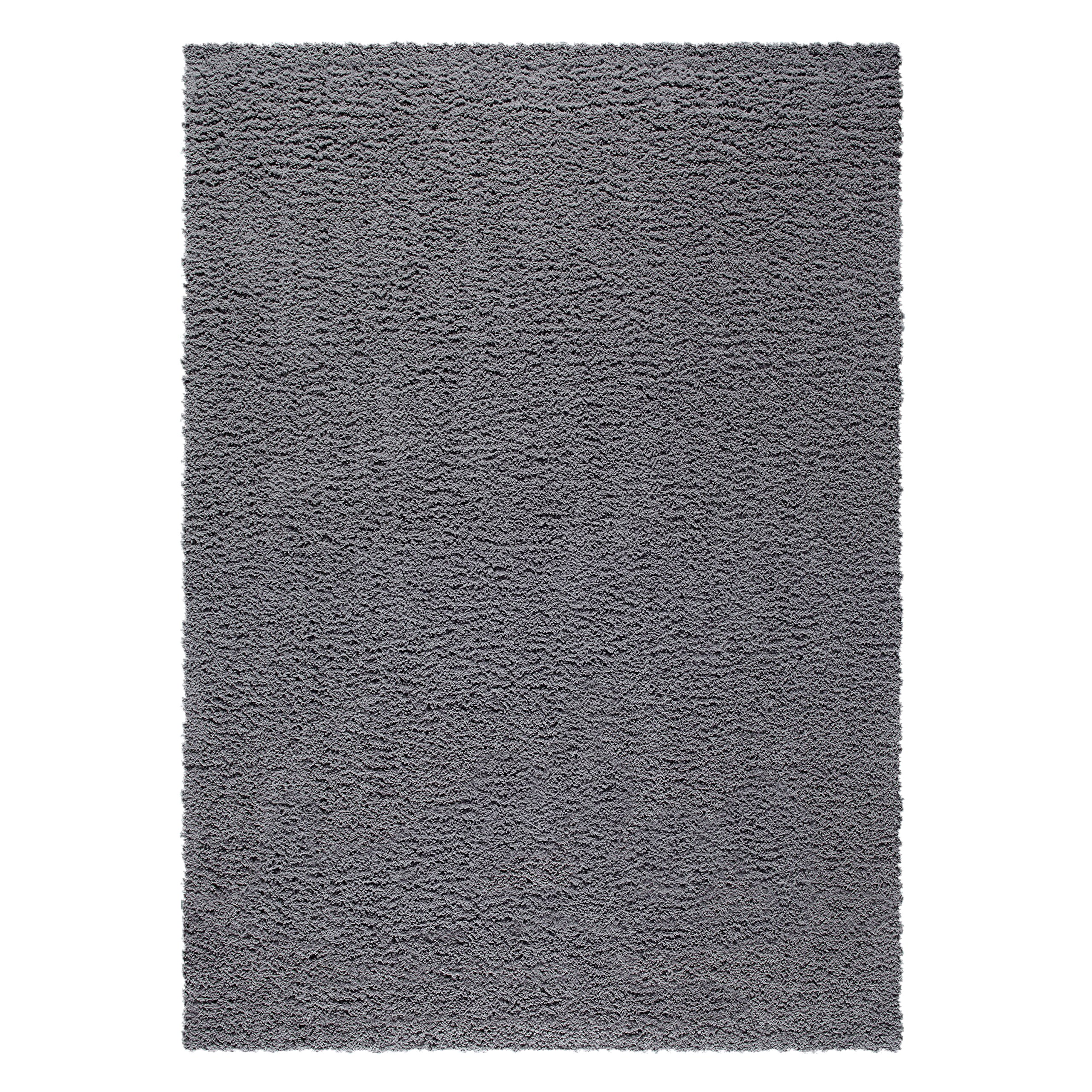 Maples Rugs Area Rugs, [Made in USA][Catriona] 7' x 10' Non Slip Padded Large Rug for Living Room, Bedroom, and Dining Room - Grey Funnel