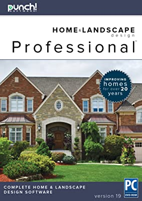 Punch! Home & Landscape Design Professional v19 - Home Design Software for Windows PC [Download]