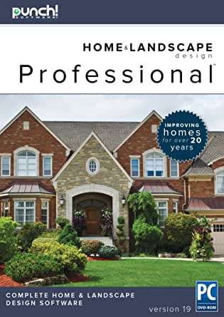 punch home landscape design professional v19 for windows pc download software