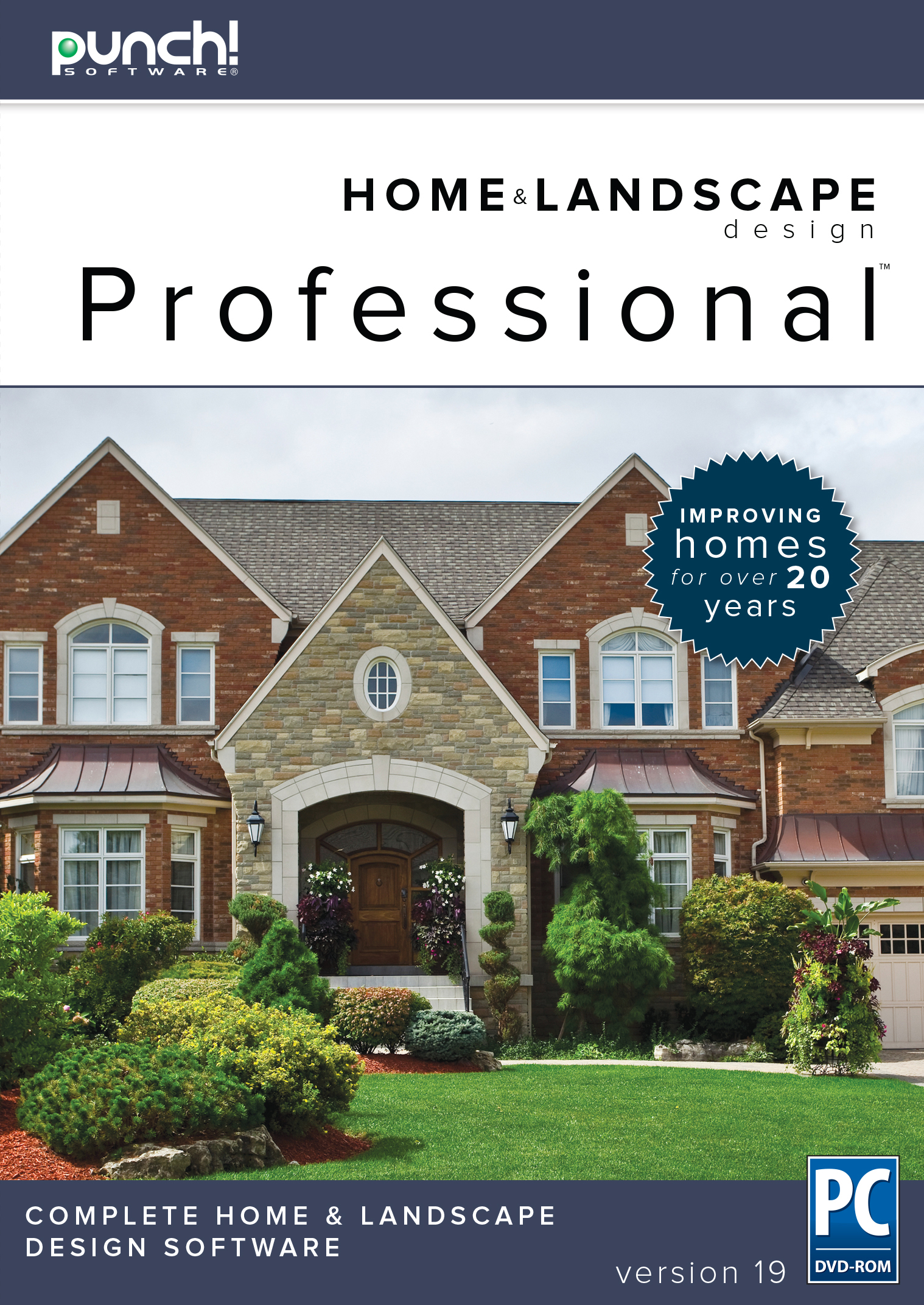 Punch! Home & Landscape Design Professional v19 for Windows PC (Punch Design Software)