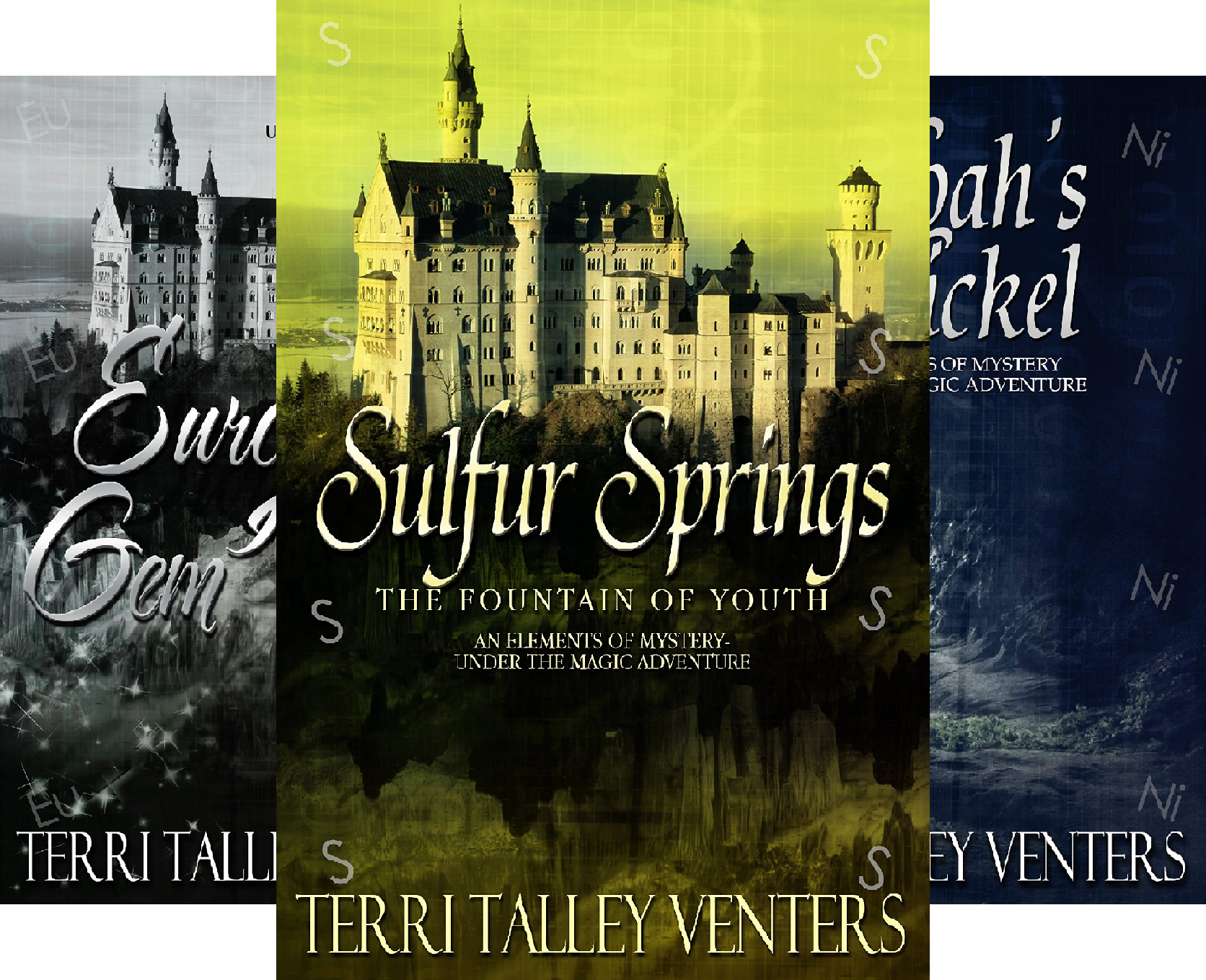 Elements Of Mystery-An Under The Magic Adventure (3 Book Series)