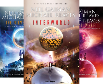 Inter World Trilogy (3 Book Series) by Neil Gaiman, Michael Reaves, Michael Reaves, Mallory Reaves