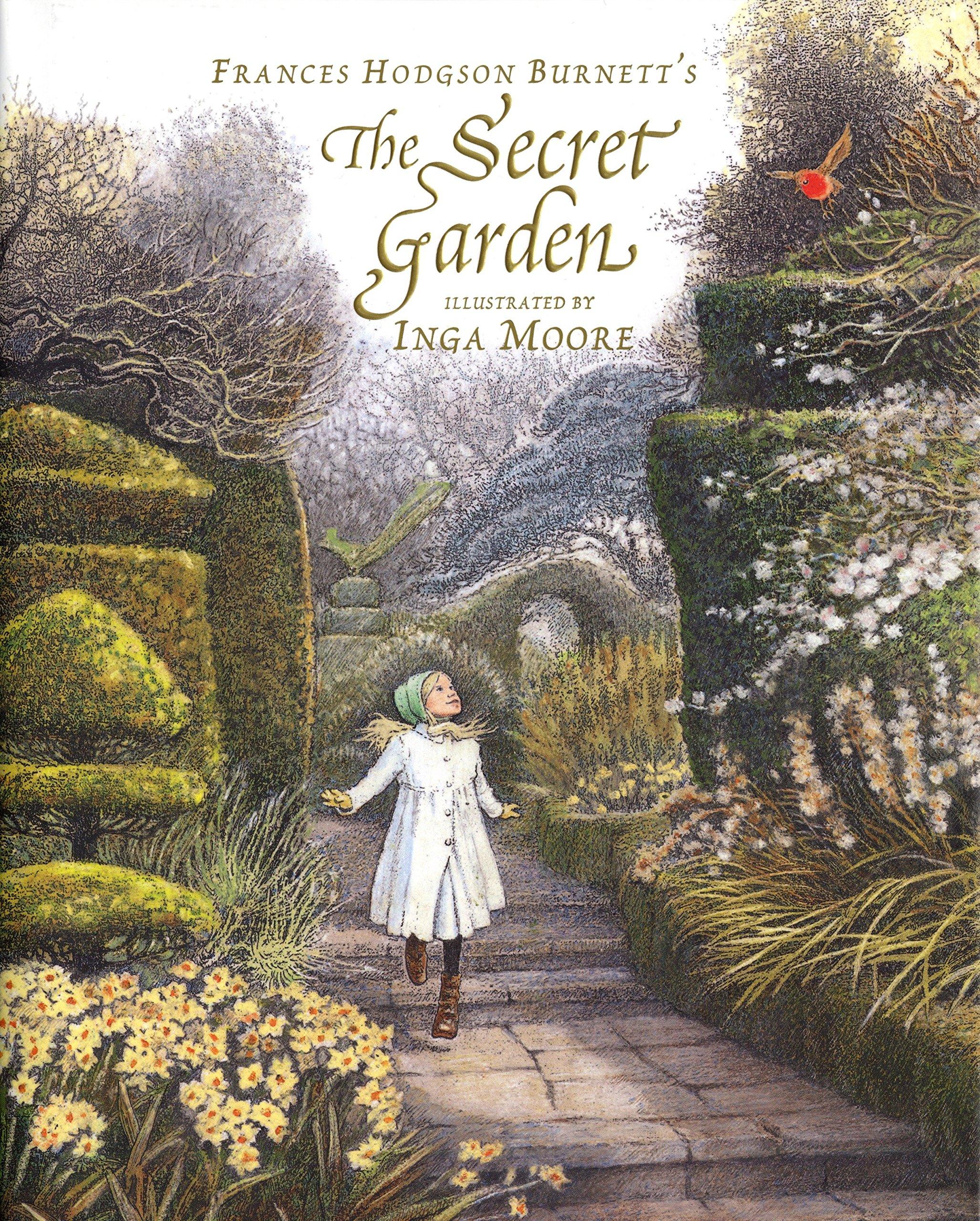 The Secret Garden Burnett Frances Hodgson Moore Inga 9780763631611 Amazon Com Books
