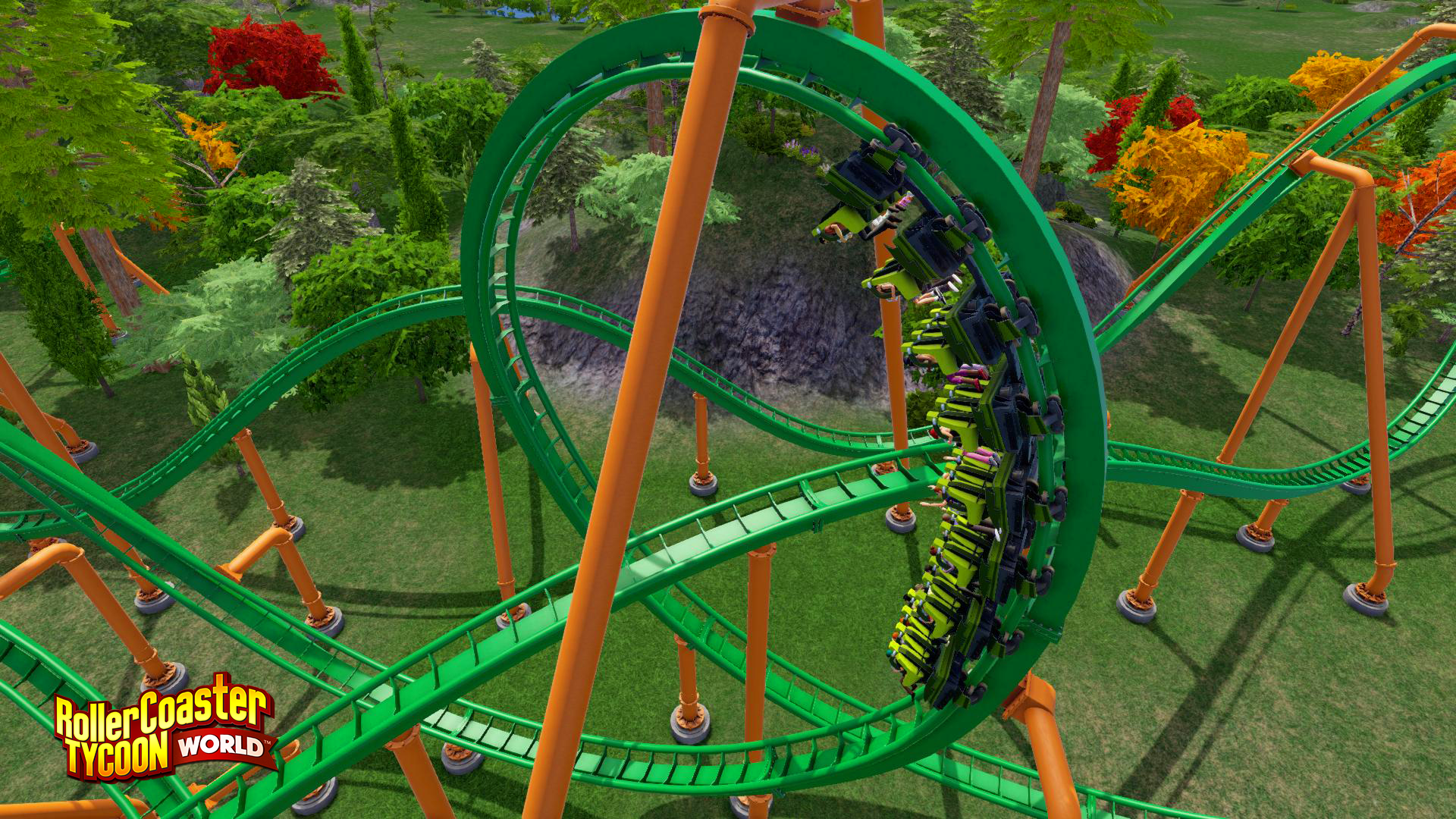 Amazon com: RollerCoaster Tycoon World [Online Game Code]: Video Games