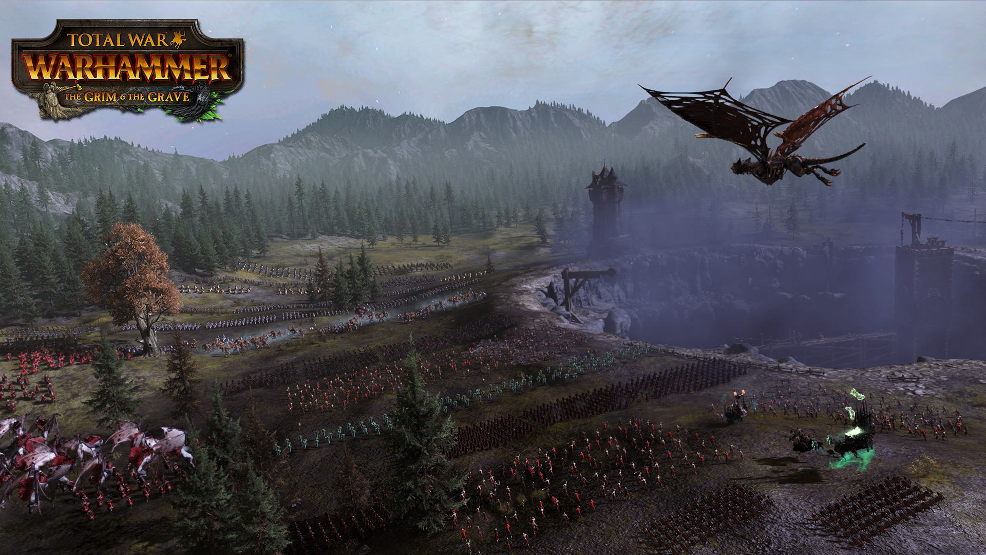 Total War : Warhammer - The Grim & The Grave DLC [PC Code