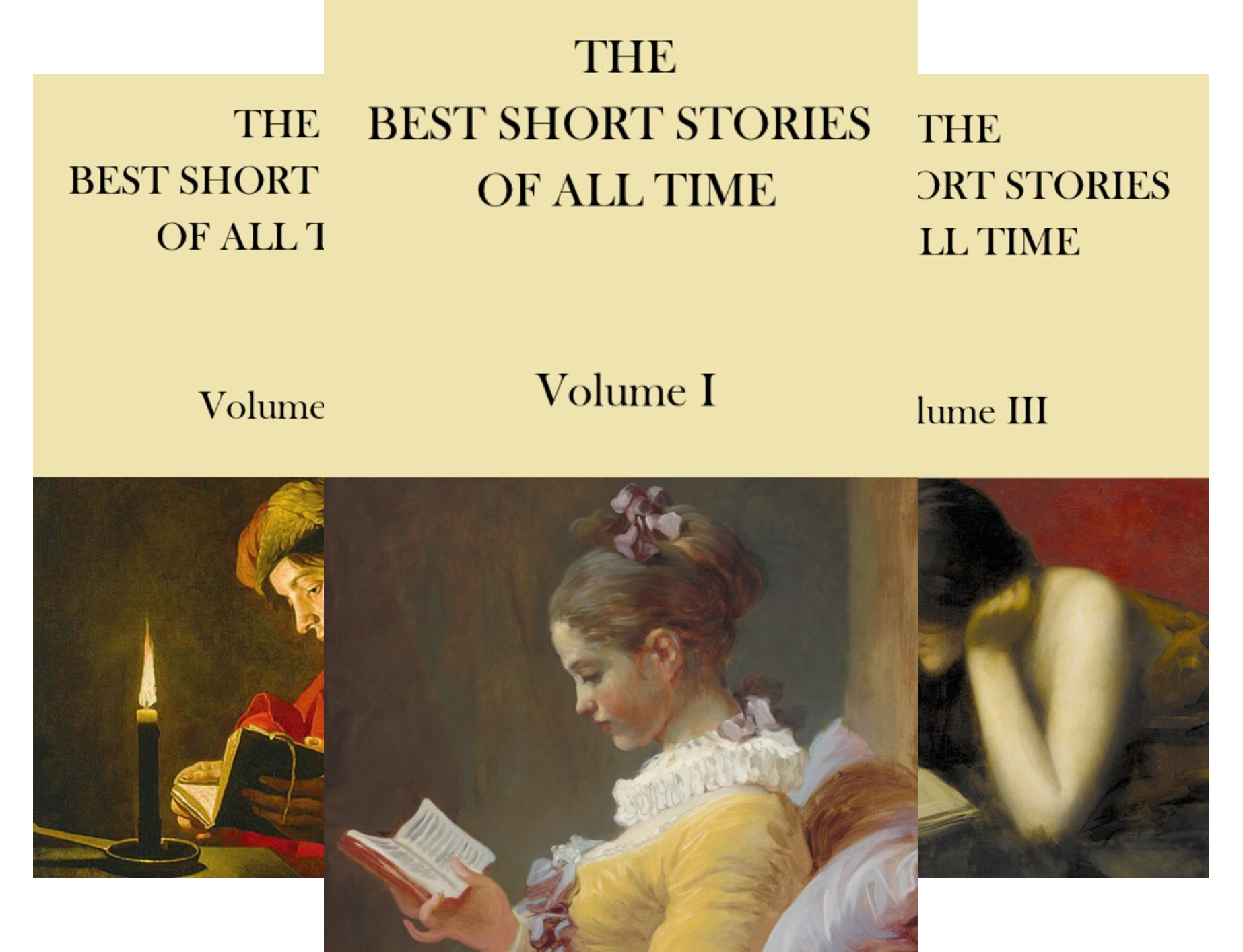 THE BEST SHORT STORIES OF ALL TIME (4 Book Series)