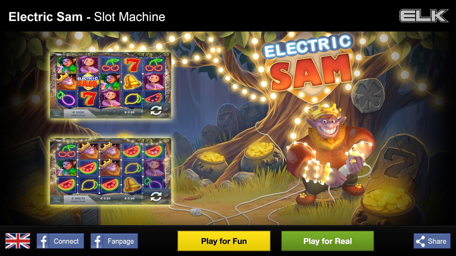 Electric Sam Slot Machine
