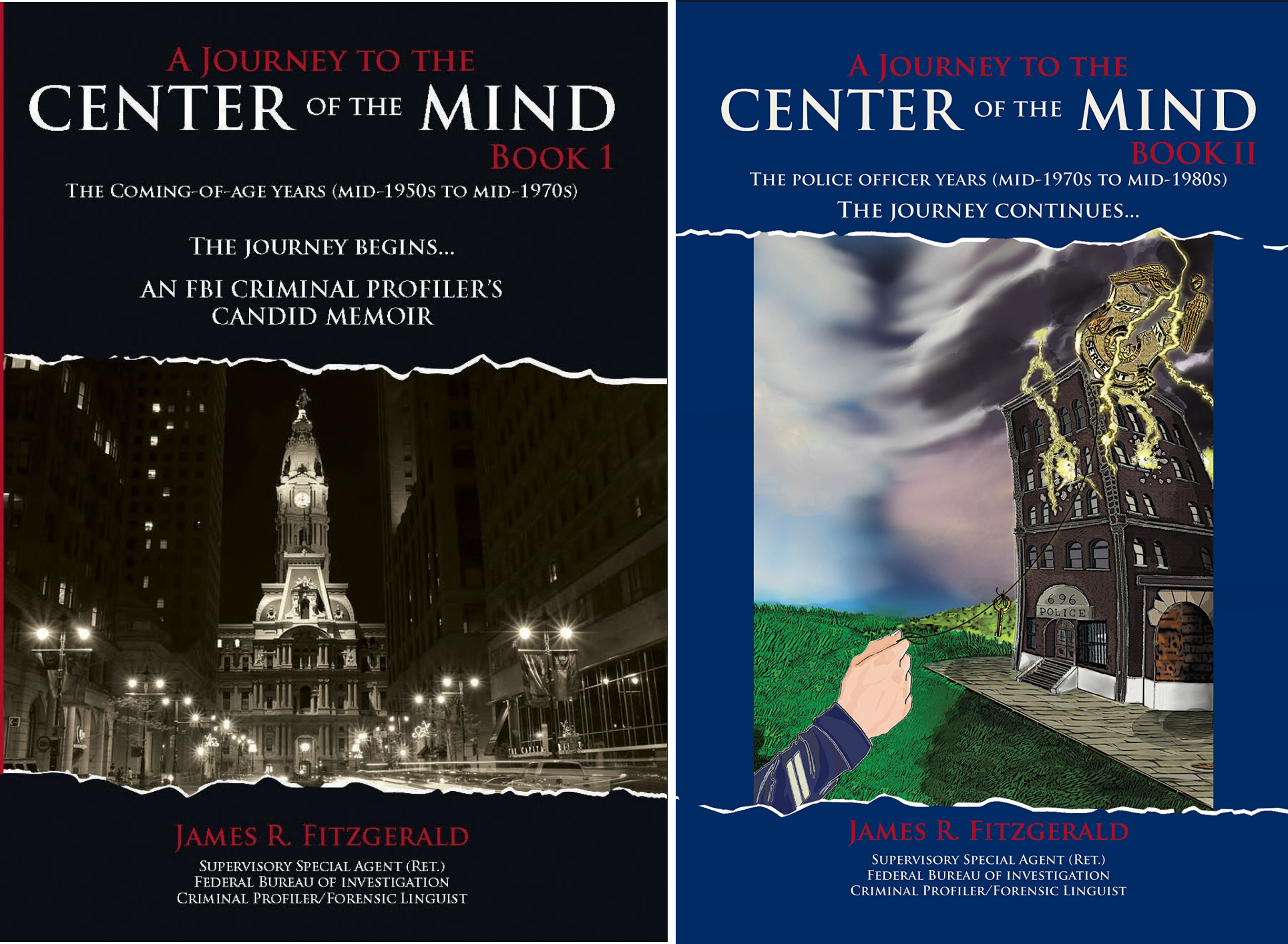 A Journey to the Center of the Mind (2 Book Series)