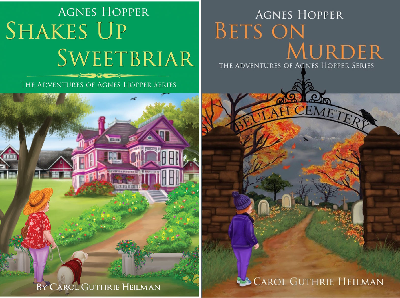 The Adventures of Agnes Hopper Series (2 Book Series)