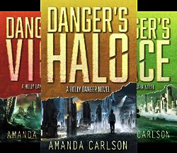 Holly Danger (6 Book Series) by  Amanda Carlson