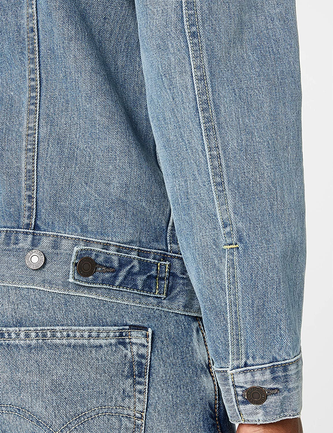 Levi's The Trucker Jacket Blouson Homme Bleu (Icy)