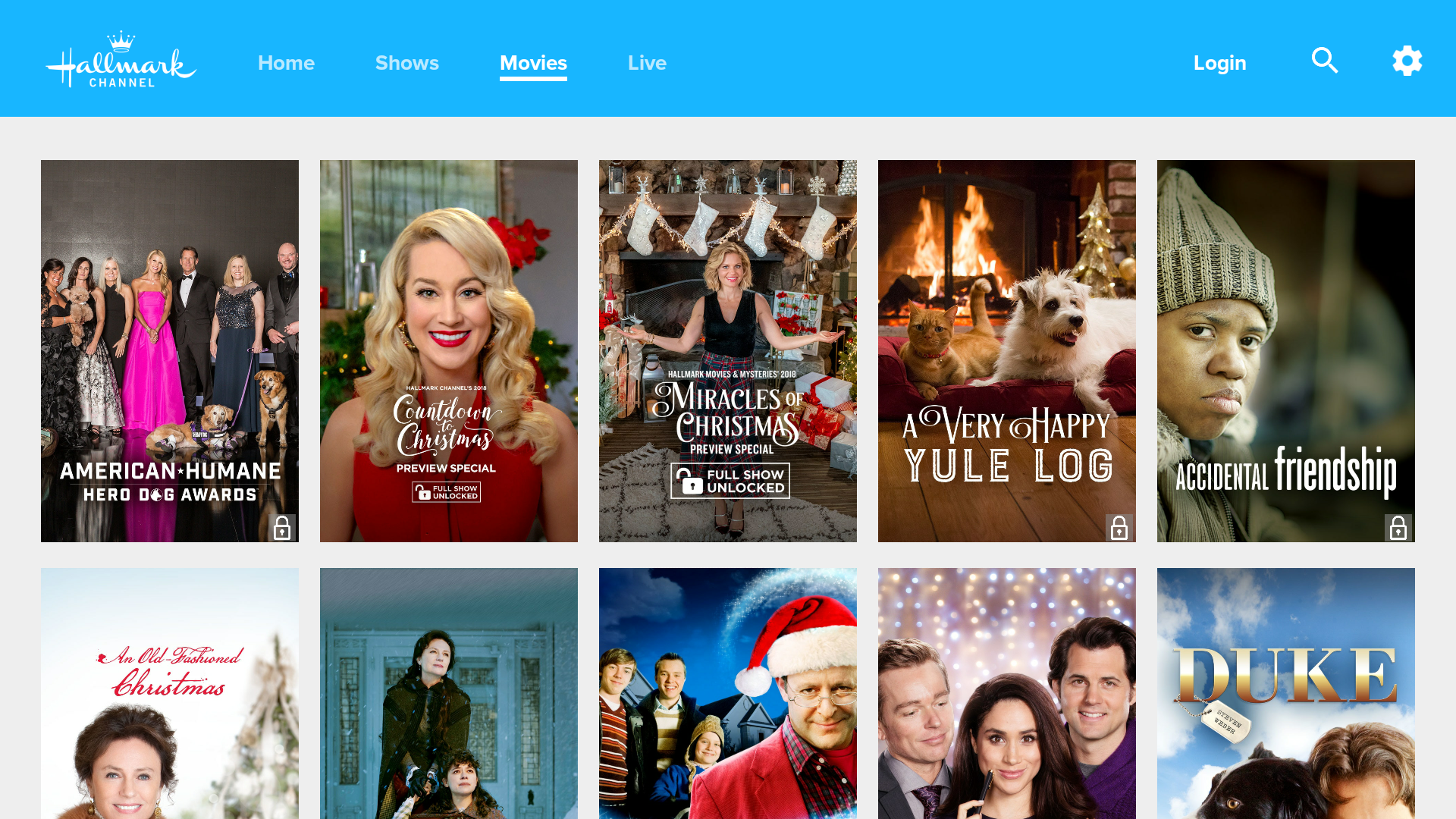 Amazoncom Hallmark Channel Everywhere Appstore For Android