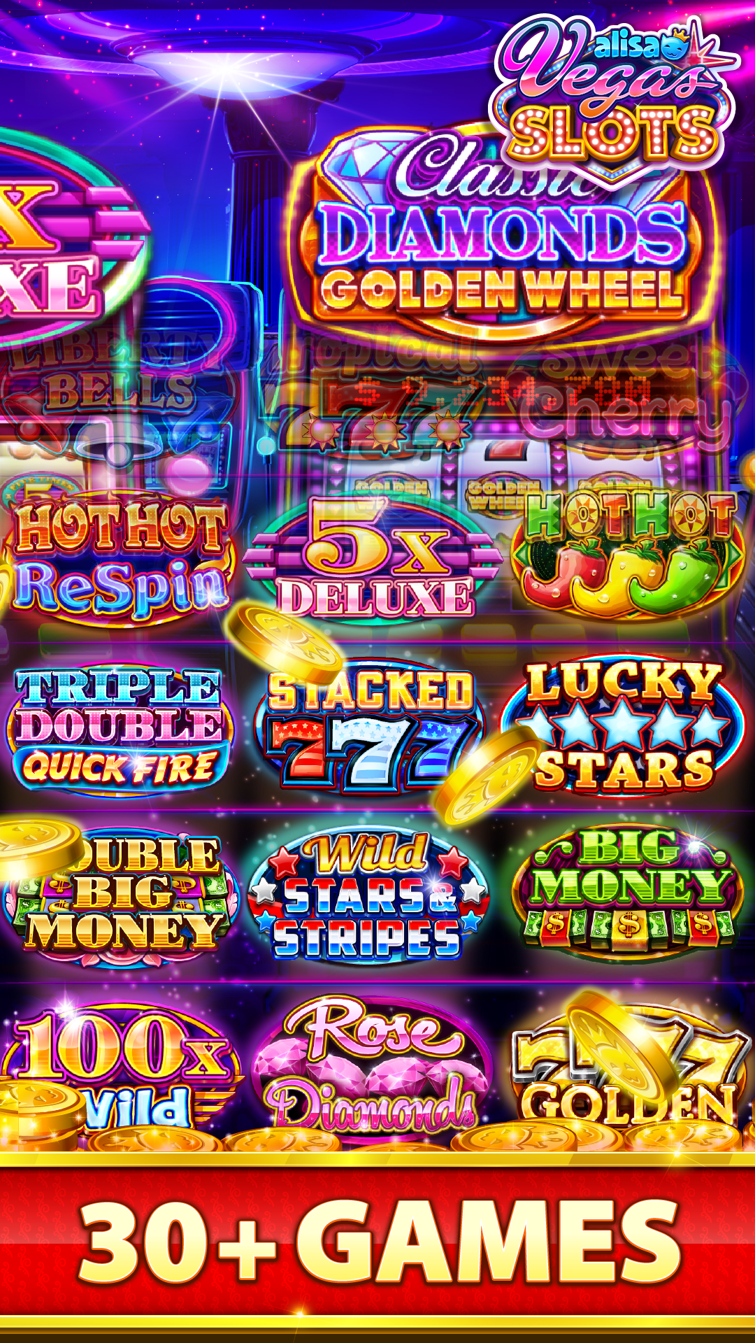 Big top casino app