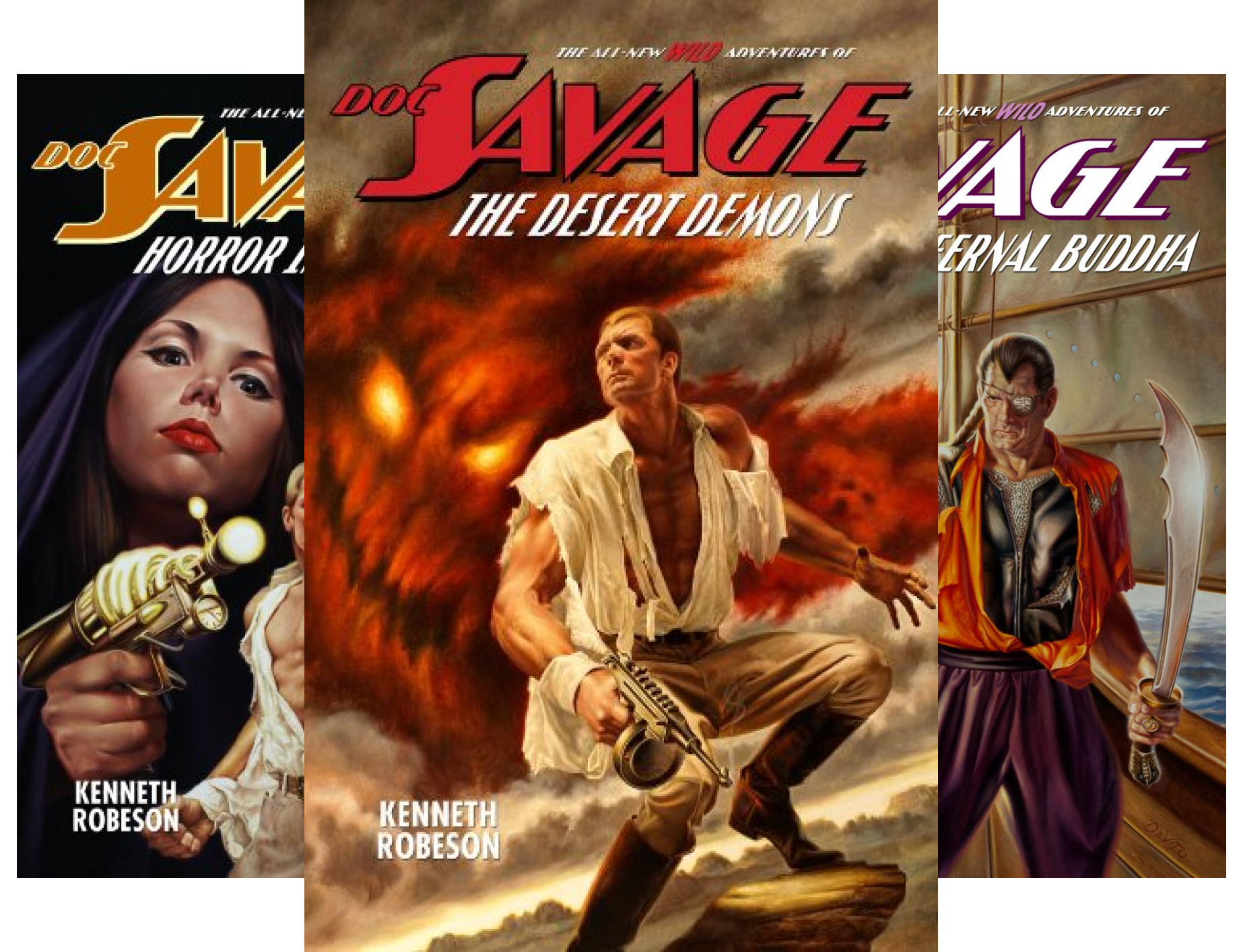 The Wild Adventures of Doc Savage