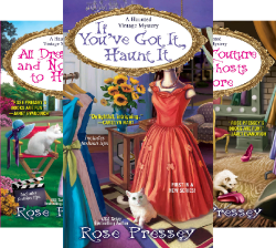 A Haunted Vintage Mystery (7 Book Series) by  Rose Pressey