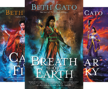 Blood of Earth (3 Book Series) by Beth Cato