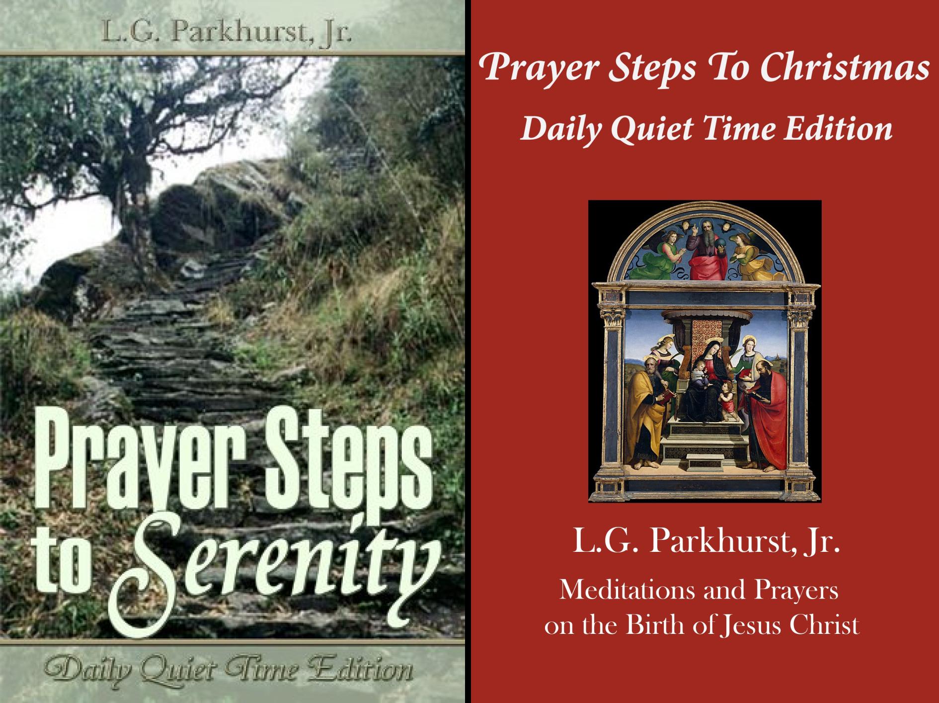 Prayer Steps (2 Book Series)