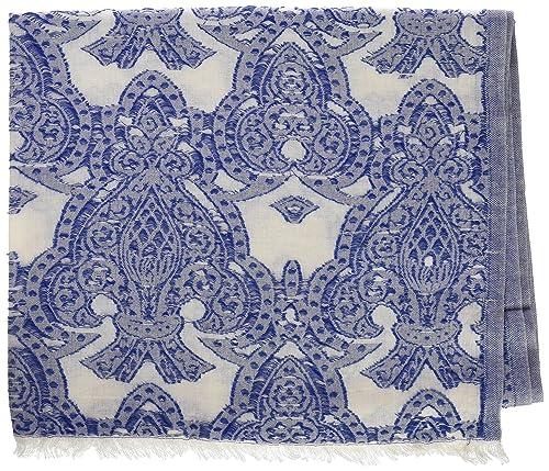 Trucco Nelejo, Pañuelo para Mujer, Azul (Azul Medio), One Size (Tamaño del fabricante:Única)