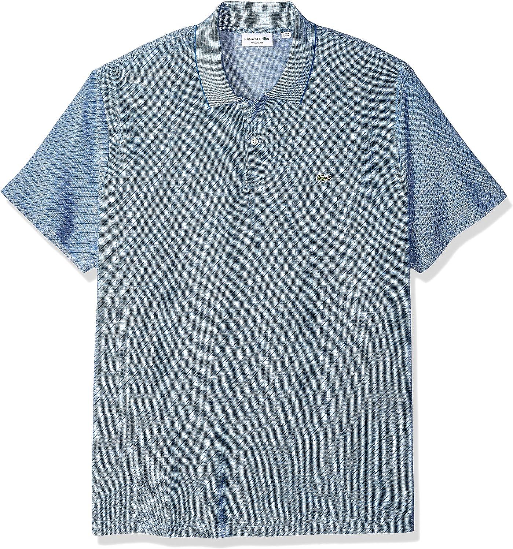 Lacoste Hombre PH7361-51 Manga Corta Camisa Polo - Azul - 3X-Large ...